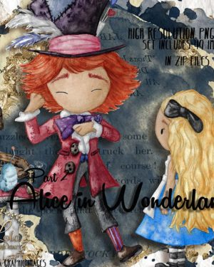 alice and hatter png images