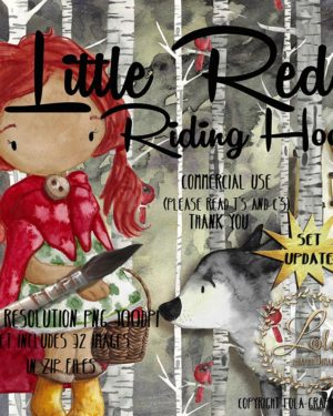 hand painted fairy tale images