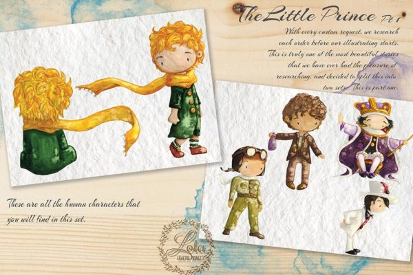 the little prince characters png