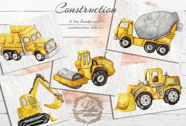 construction vehicles png images