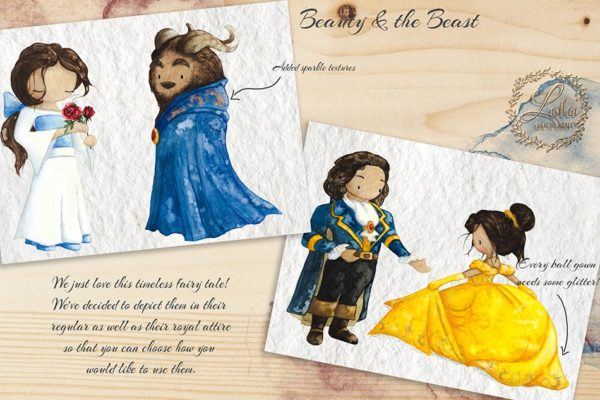 belle beauty and the beast png images