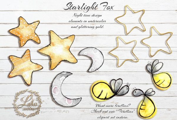 watercolor firefly night png
