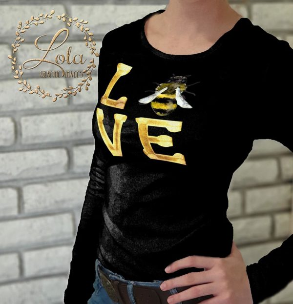 bee sublimation design