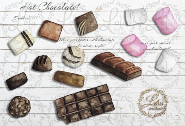 hand painted chocolate png
