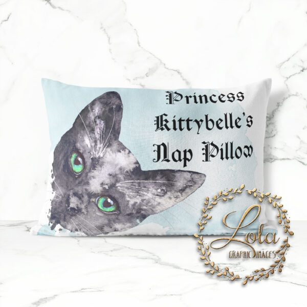 hand painted cat graphics